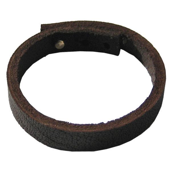 دستبند چرم گاومیش دانوب مدل بوفالو 002