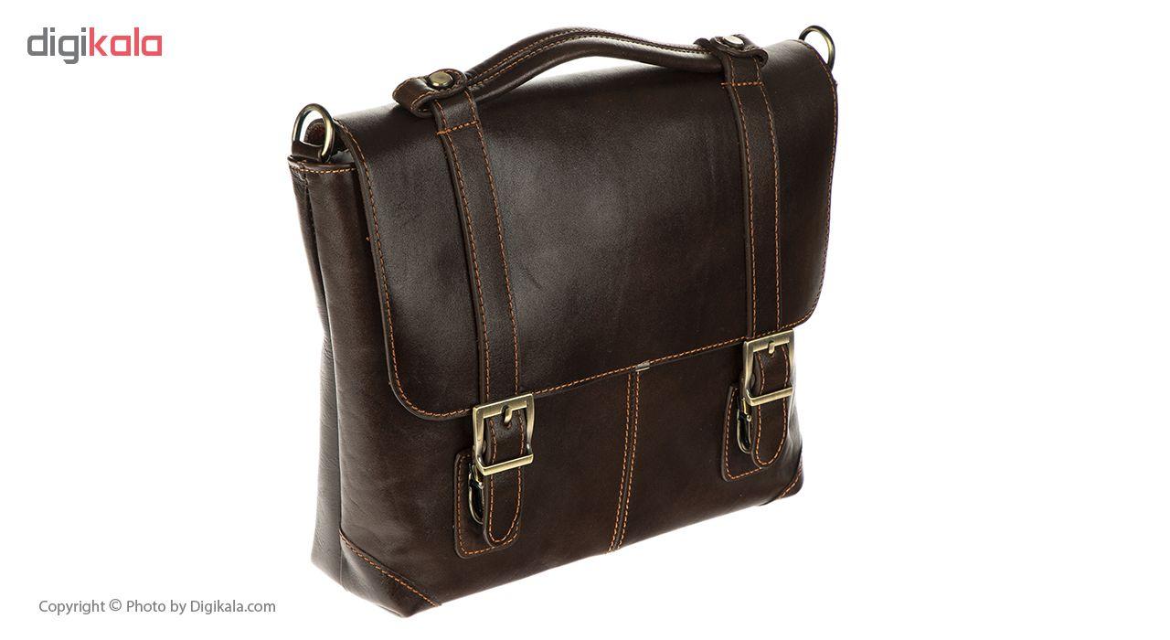 کیف اداری چرم طبیعی مدل DA2