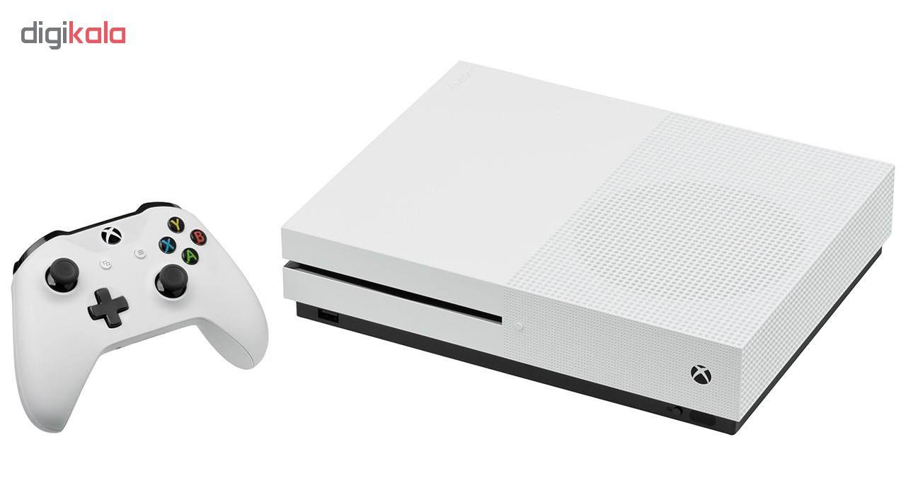 کنسول بازی مایکروسافت مدل Xbox One S ظرفیت 1 ترابایت به همراه 20 عدد بازی