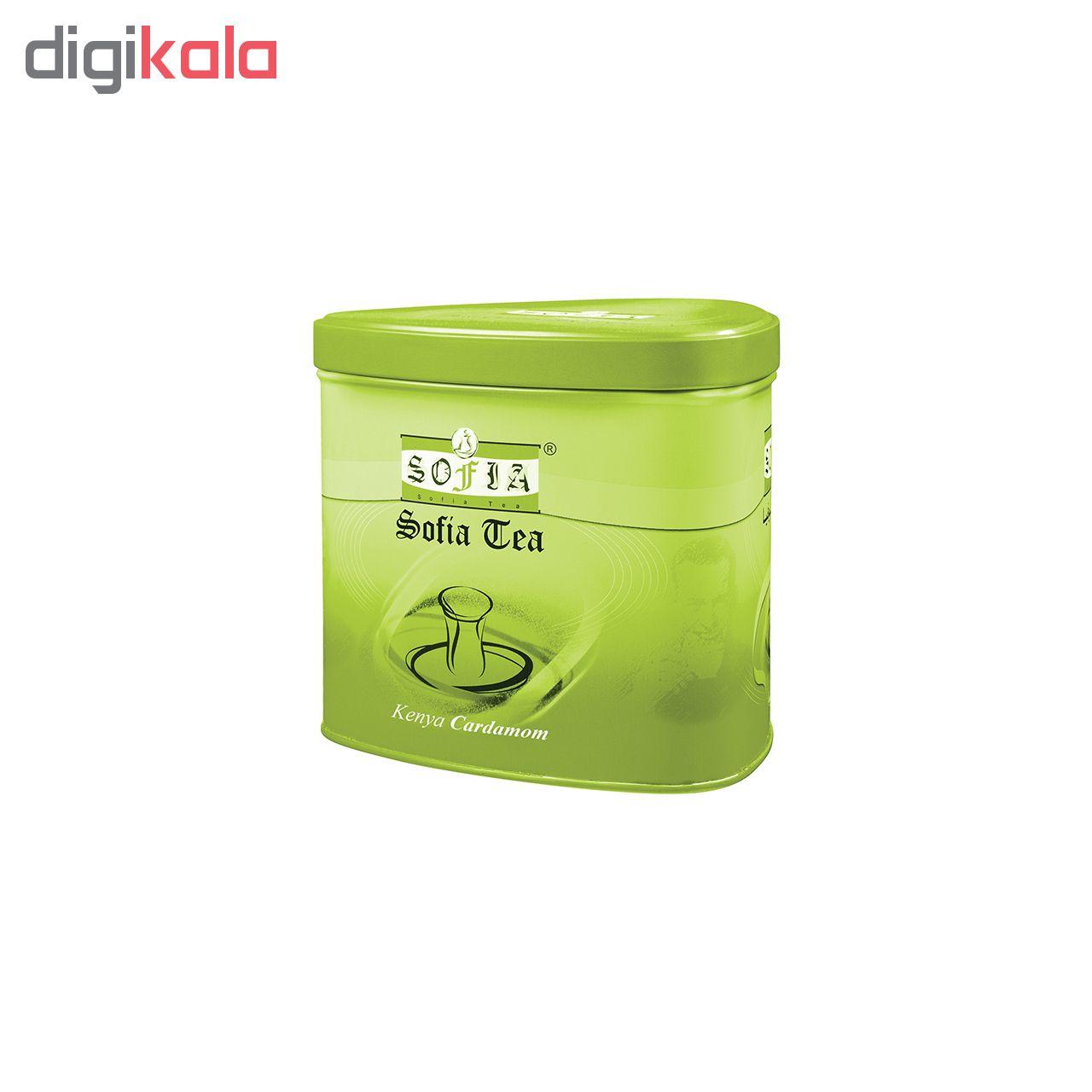 چای سیاه  کله مورچه چای  سوفیا مقدار450 گرم