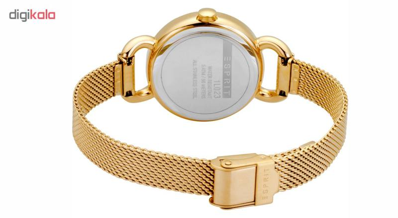 ست دستبند و ساعت مچی عقربه ای زنانه اسپریت مدل ES1L023M0055