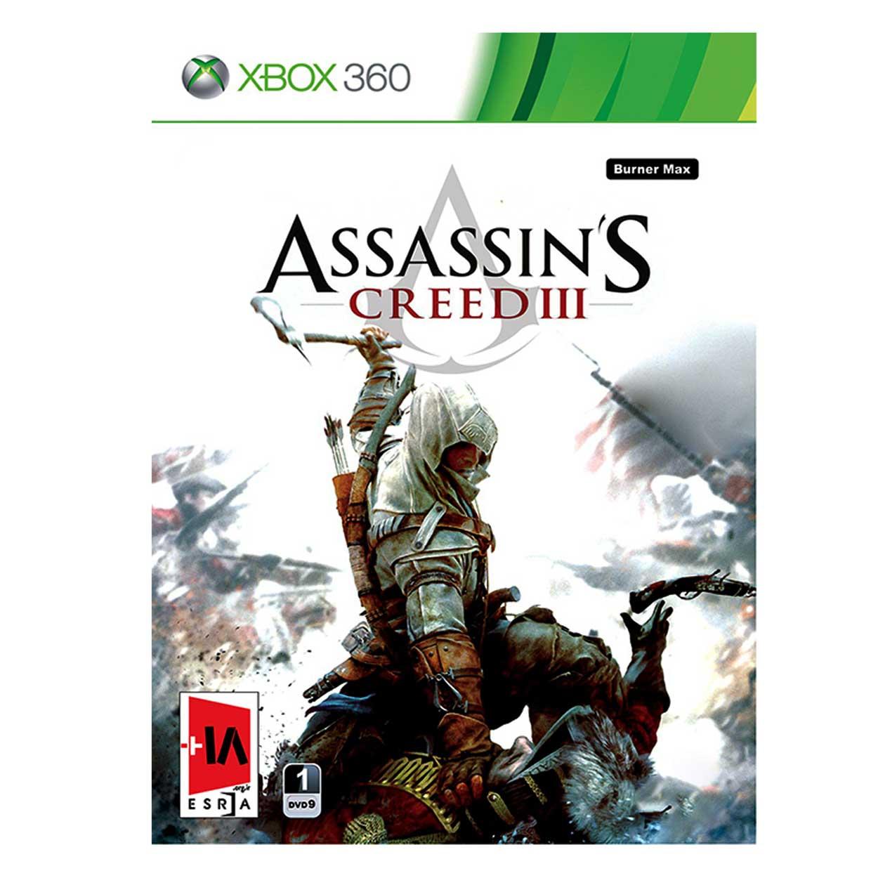 بازی Assassin's Creed III مخصوص xbox 360