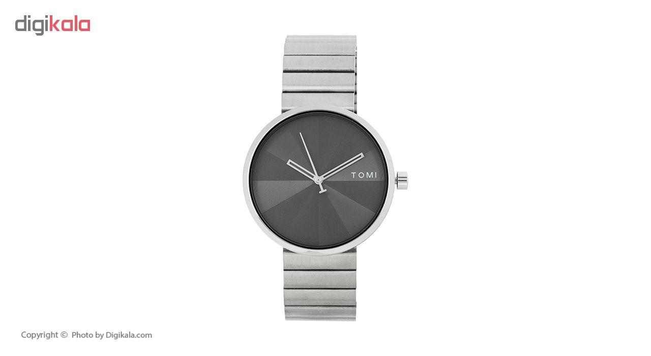 خرید ساعت مچی عقربه ای مردانه تامی مدل 012 رنگ نقره ای