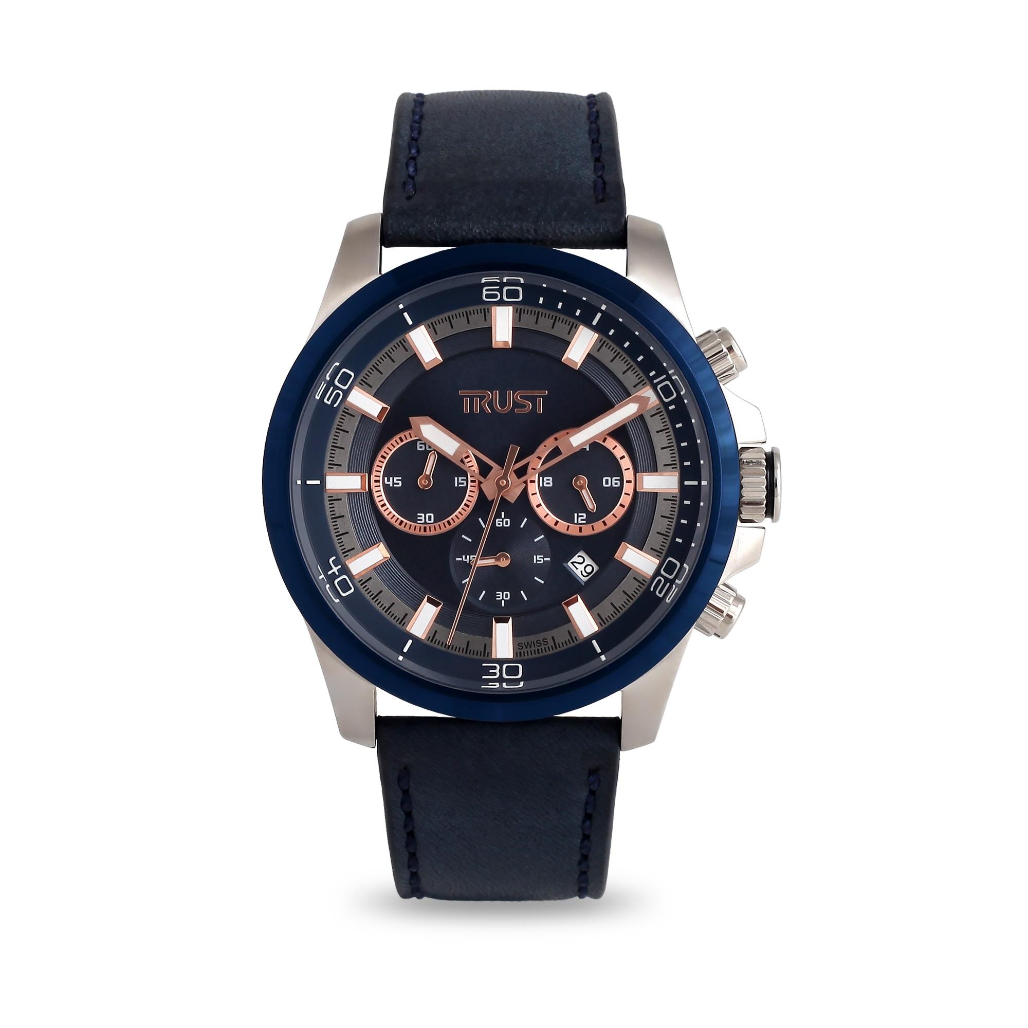 ساعت مچی عقربه ای مردانه تراست مدل G499HSG 7