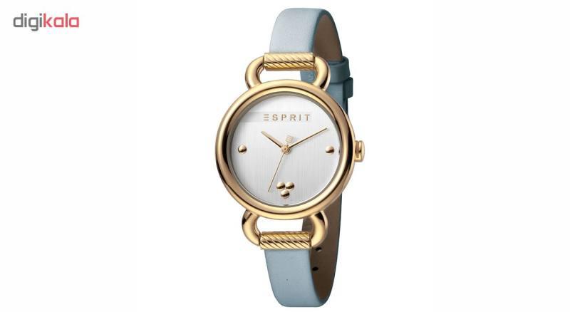 ست دستبند و ساعت مچی عقربه ای زنانه اسپریت مدل ES1L023L0025