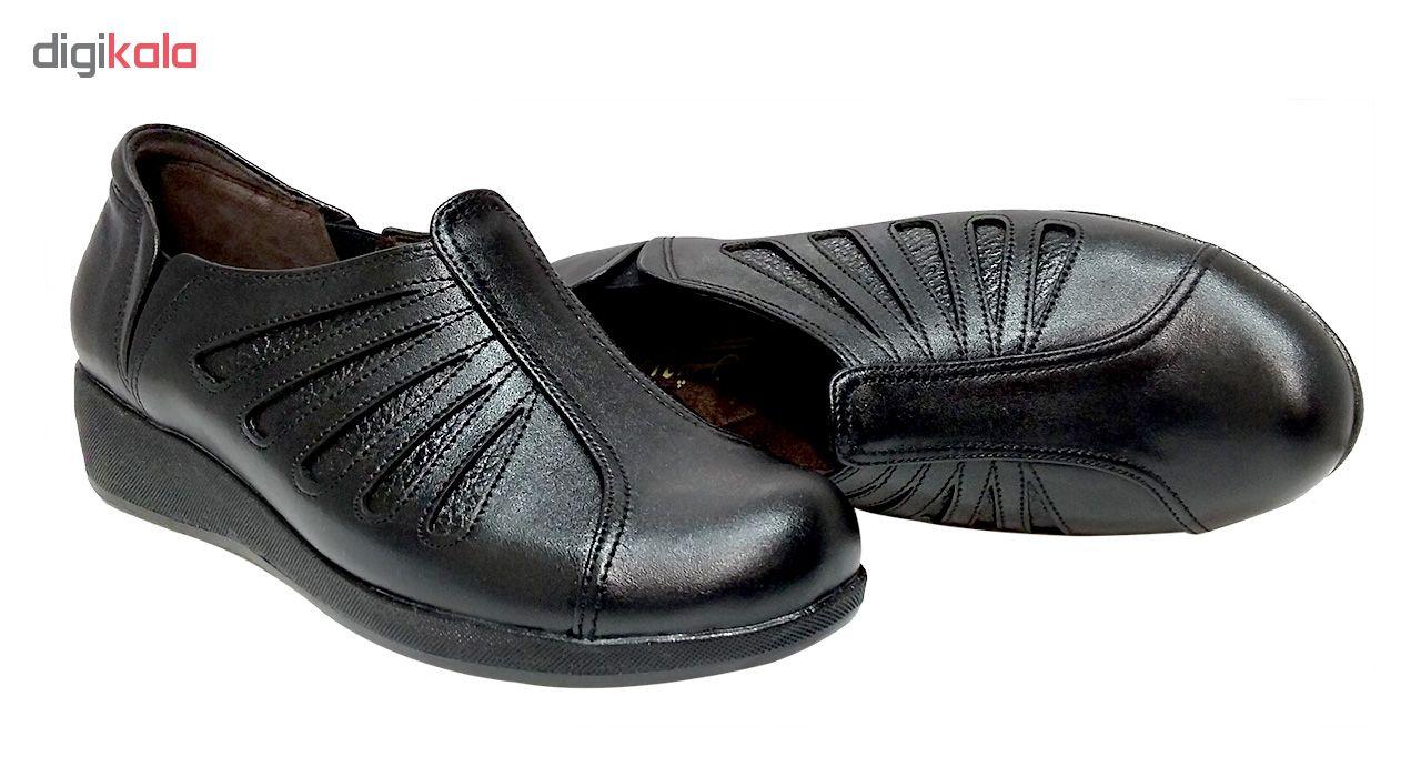 کفش طبی زنانه روشن مدل شاهین کد 01