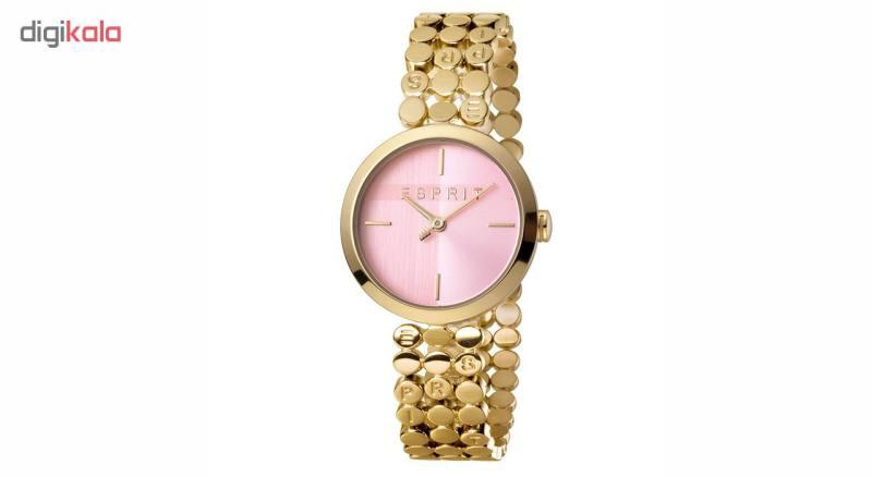 ست دستبند و ساعت مچی عقربه ای زنانه اسپریت مدل ES1L018M0045