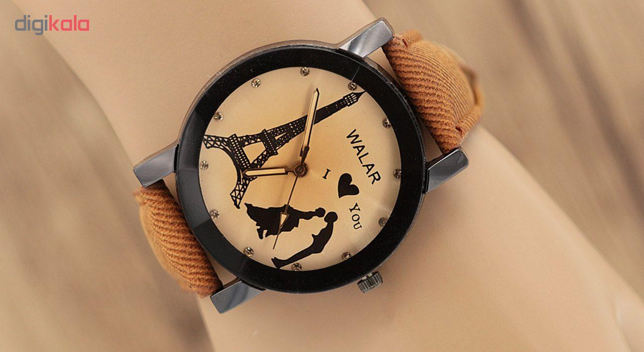 ساعت مچی عقربه ای زنانه والار مدل F2149
