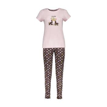 ست تی شرت و شلوار راحتی زنانه ناربن مدل 1521157-84 | Narbon 1521157-84 T-shirt And Pants Set For Women