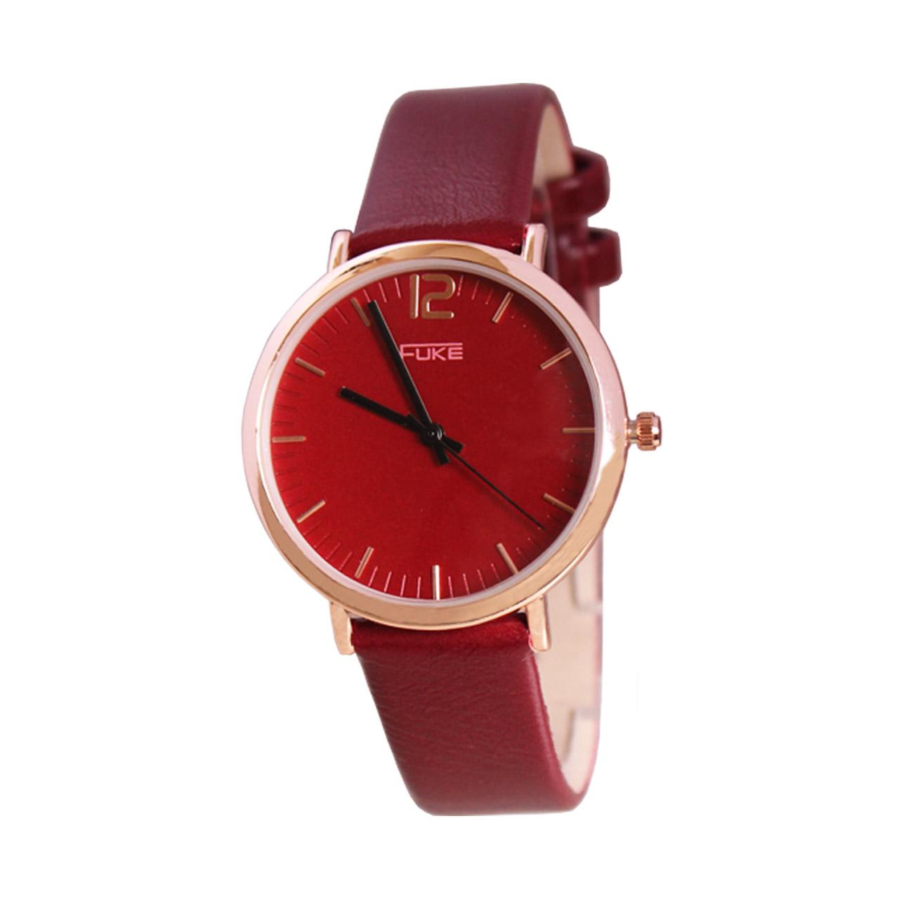 ساعت مچی عقربه ای زنانه فوکه مدل DGZU-0149 3