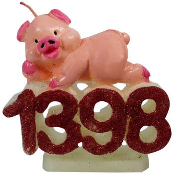 شمع طرح سال نو مدل 1398