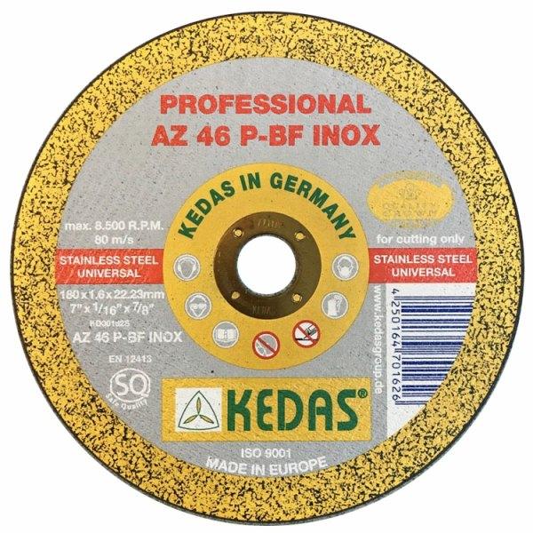 صفحه سنگ ساب کداس KEDAS مدل KD-00209
