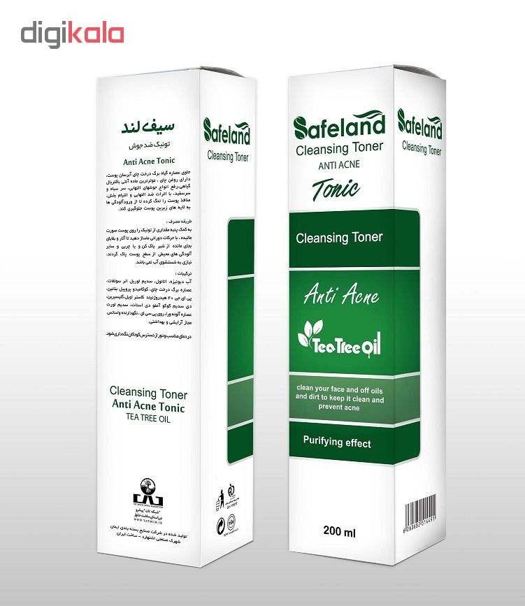 تونیک ضدجوش سیفلند مدل Anti Acne حجم ۲۰۰ میلی لیتر main 1 2