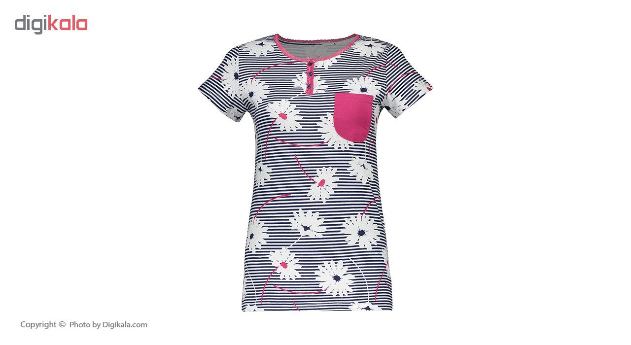 خرید                                      ست تی شرت و شلوار راحتی زنانه ناربن مدل 1521148-67