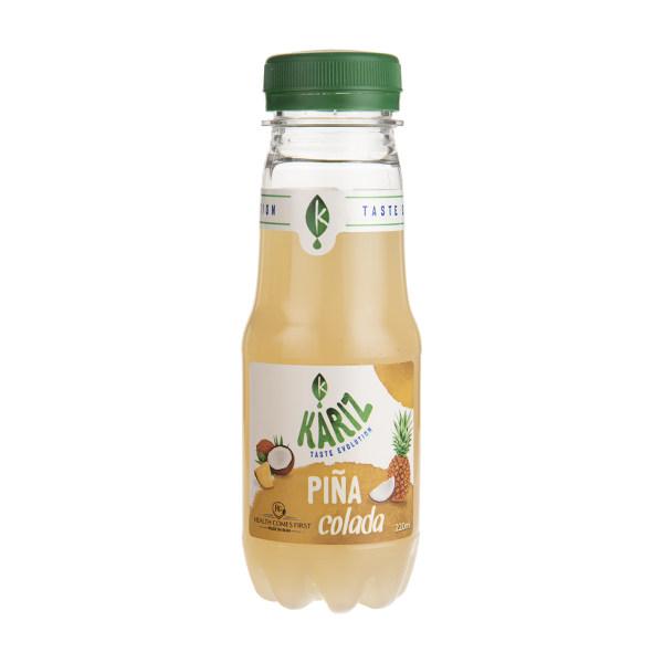 نوشیدنی بدون گاز مخلوط آناناس و شیر نارگیل کاریز مقدار 220 میلی لیتر