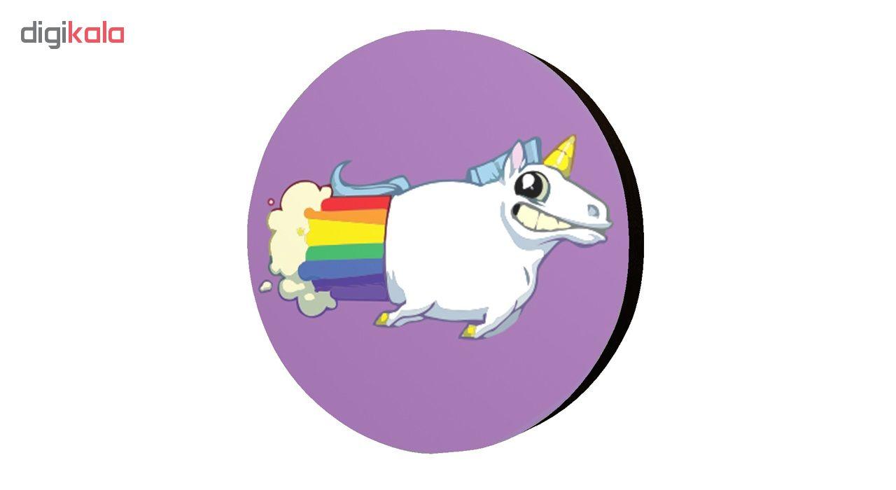 استیکر اسب تک شاخ مدل Unicorn 9