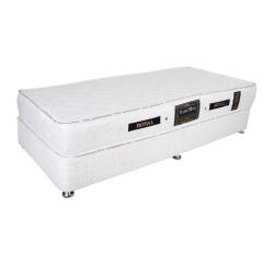 تخت خواب یک نفره رویال کد V101 همراه تشک