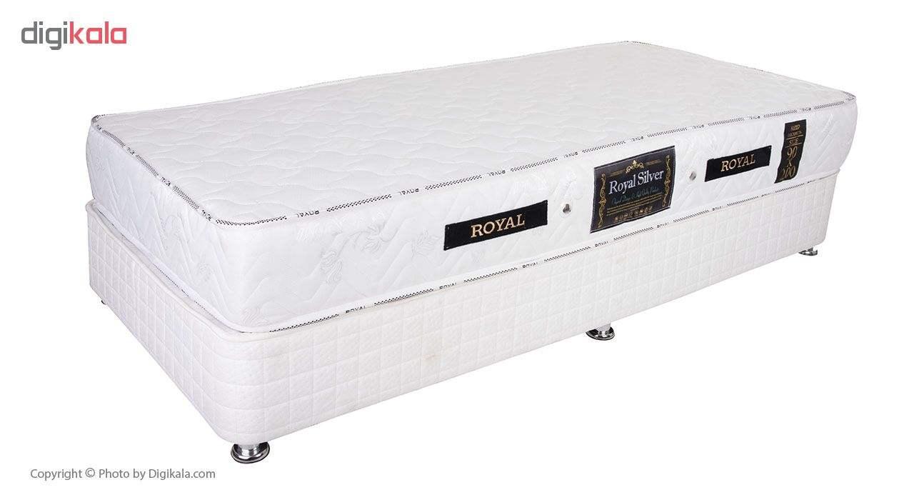 تخت خواب یک نفره رویال کد V102 همراه تشک main 1 1