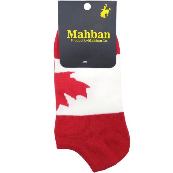جوراب مردانه مچی مهبان مدل پرچم کانادا