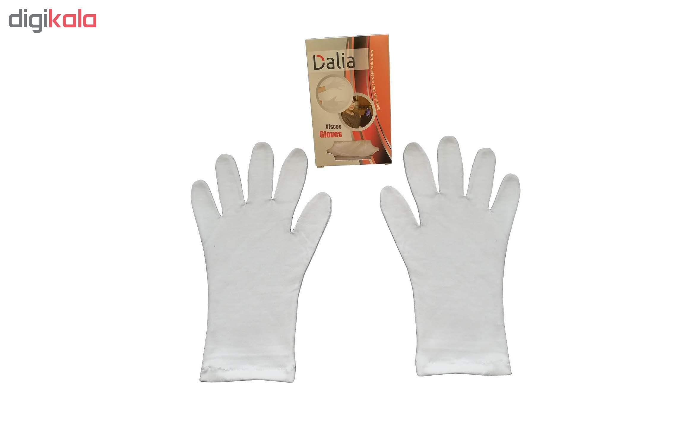 دستکش نخی ضد حساسیت دالیا مدل viscose2 main 1 3