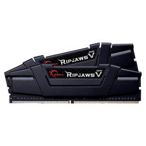 رم دسکتاپ DDR4 دو کاناله 3200 مگاهرتز CL16 جی اسکیل مدل RIPJAWZ V ظرفیت 16 گیگابایت بسته دو عددی