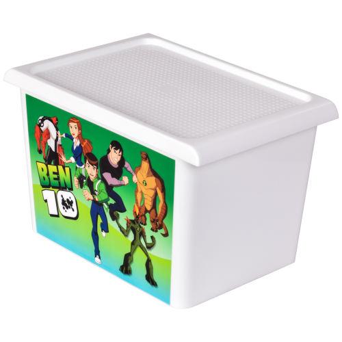جعبه اسباب بازی کودک مهروز مدل DOP-BEN 10