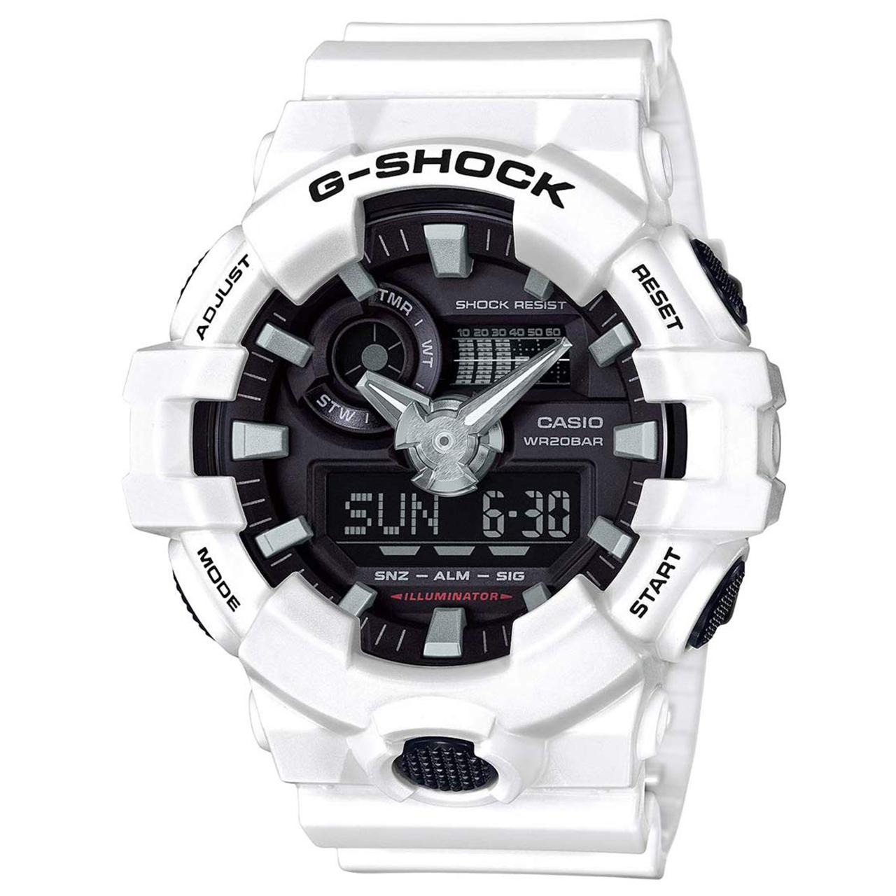 ساعت مچی عقربه ای مردانه کاسیو مدل GA-700-7ADR