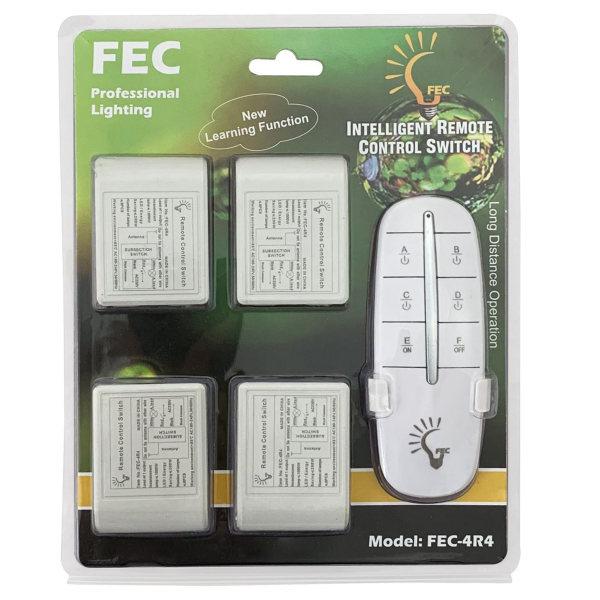 ریموت کنترل روشنایی اف ای سی مدل 4R4