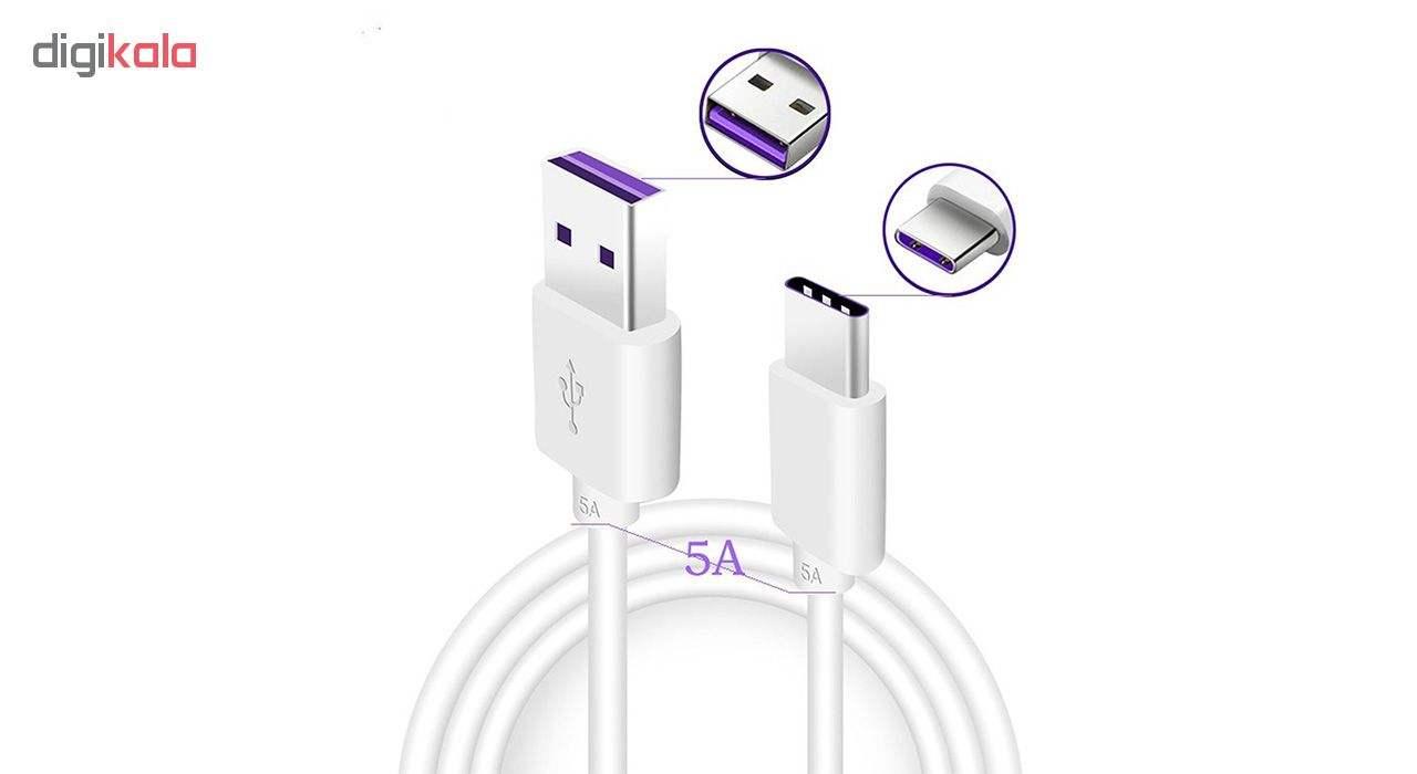 کابل تبدیل USB به USB-C مدل HL1289 سوپرشارژ طول 1 متر thumb 2