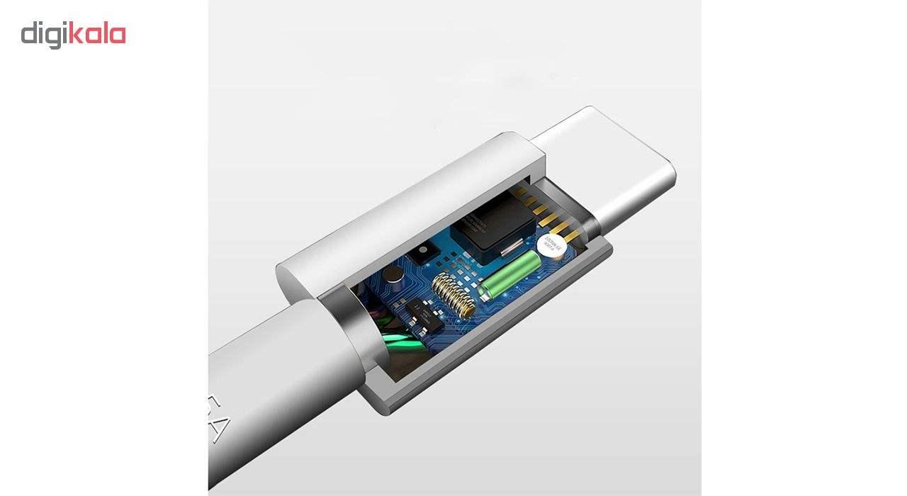 کابل تبدیل USB به USB-C مدل HL1289 سوپرشارژ طول 1 متر main 1 9