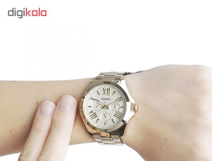 ساعت مچی عقربه ای زنانه فسیل مدل AM4510
