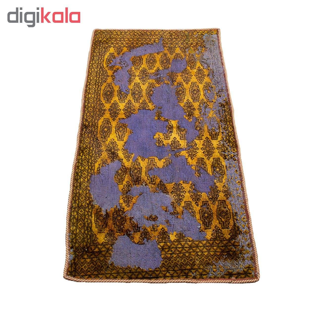 فرش دستبافت وینتیج یک متری کد 9709023