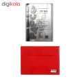 کاور کاغذ پاپکو سایز A4 به همراه پوشه دکمه دار پاپکو کد 344 thumb 1