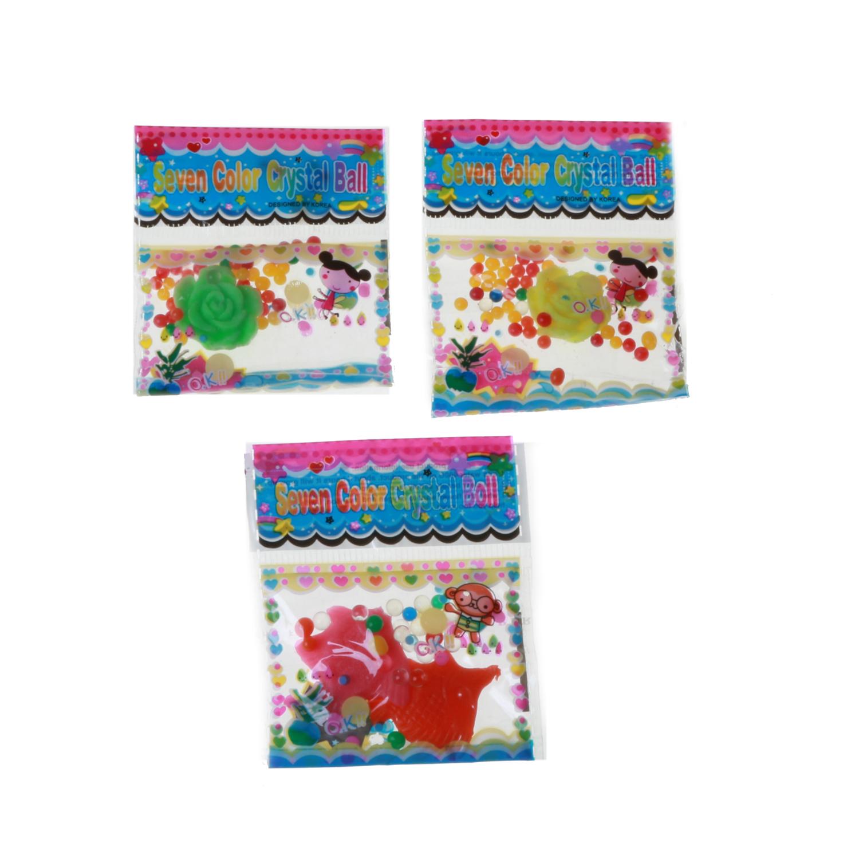 خاك ژله اي کریستالی مدل Seven Color كد 1268 بسته 3 عددی