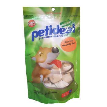 غذای تشویقی سگ پتی دیل مدل استخوان گره ای مرغ وزن 100 گرم  