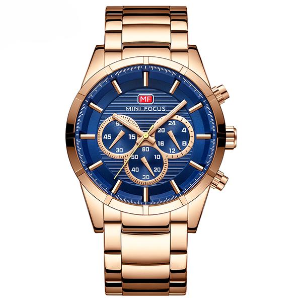 ساعت مچی عقربه ای مردانه مینی فوکوس مدل mf0170g.01