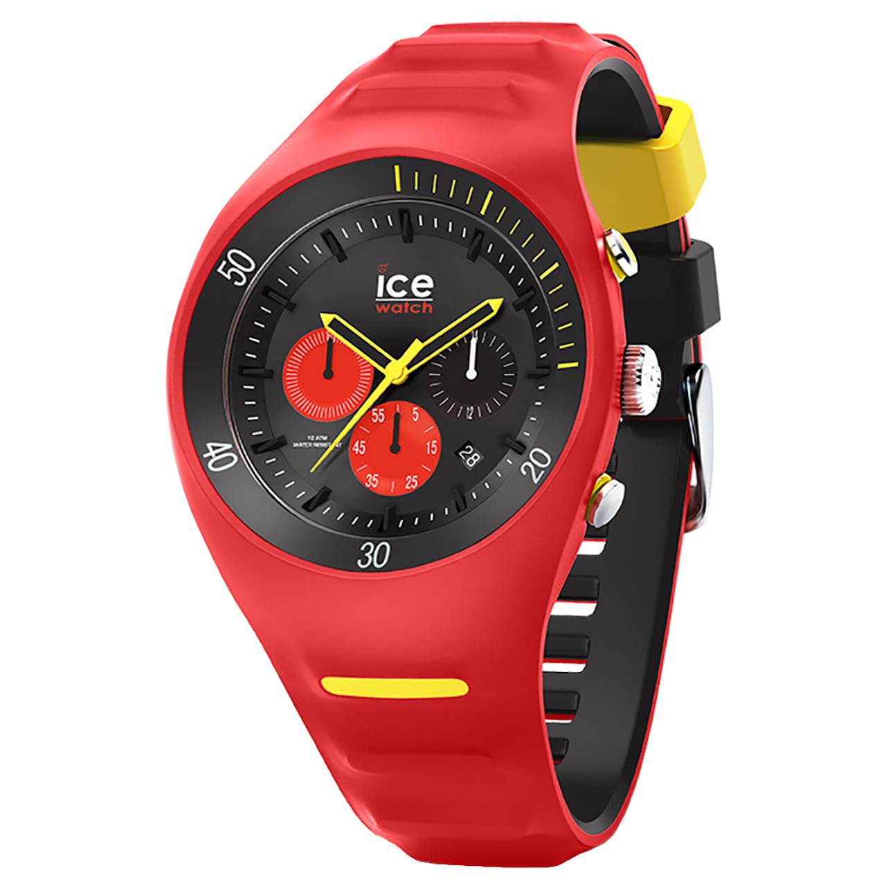 ساعت مچی عقربه  آیس واچ مدل P.LECLERCQ-RED-LARGE-CH