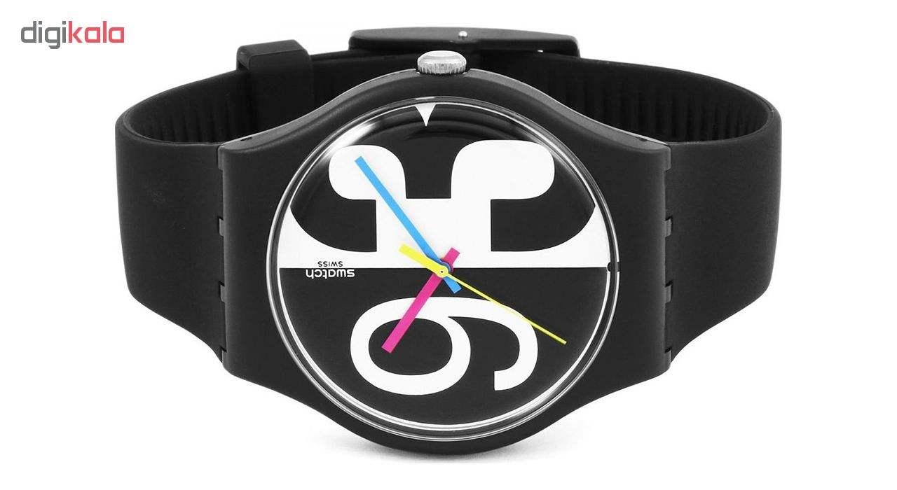 ساعت مچی عقربه ای  مردانه سواچ مدل SUOB141 -  - 1