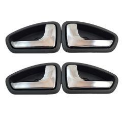 دستگیره داخلی درب خودرو مدل Galleria-PEr05 مناسب برای پراید بسته 4 عددی