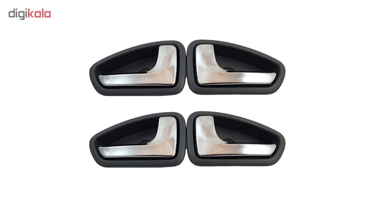 دستگیره داخلی درب خودرو مدل Galleria-PEr05 مناسب برای پراید بسته 4 عددی main 1 1
