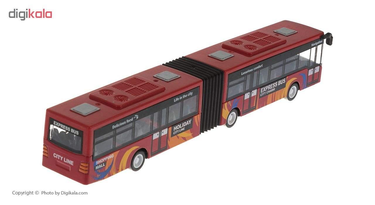 ماشین بازی مدل Bus-R