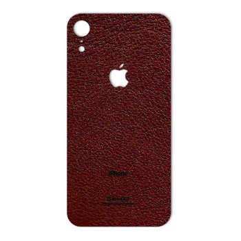 برچسب پوششی ماهوت مدل Natural-Leather مناسب برای گوشی موبایل اپل iPhone XR