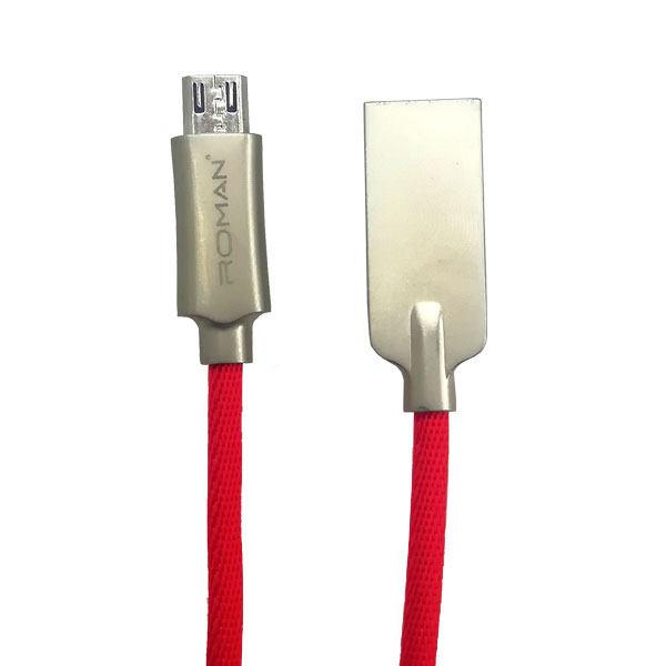 کابل تبدیل USB به microUSB رومن مدل CL02  طول 1 متر