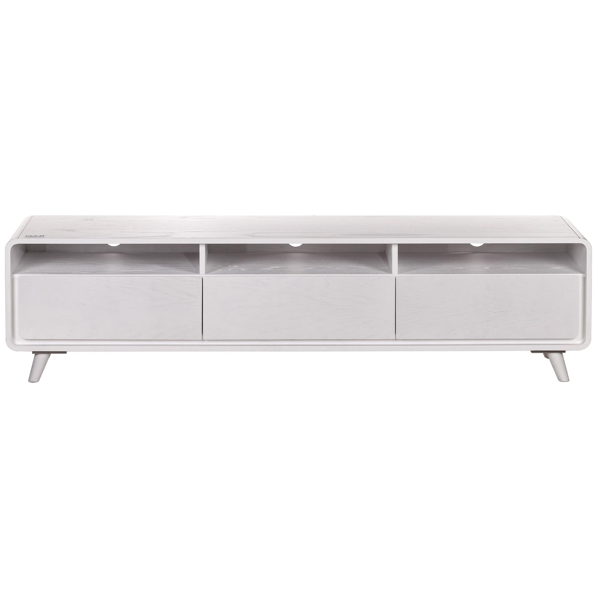 خرید اینترنتی میز تلویزیون آیلکس مدل LONIZ 3D-WHITE WASH-180 اورجینال