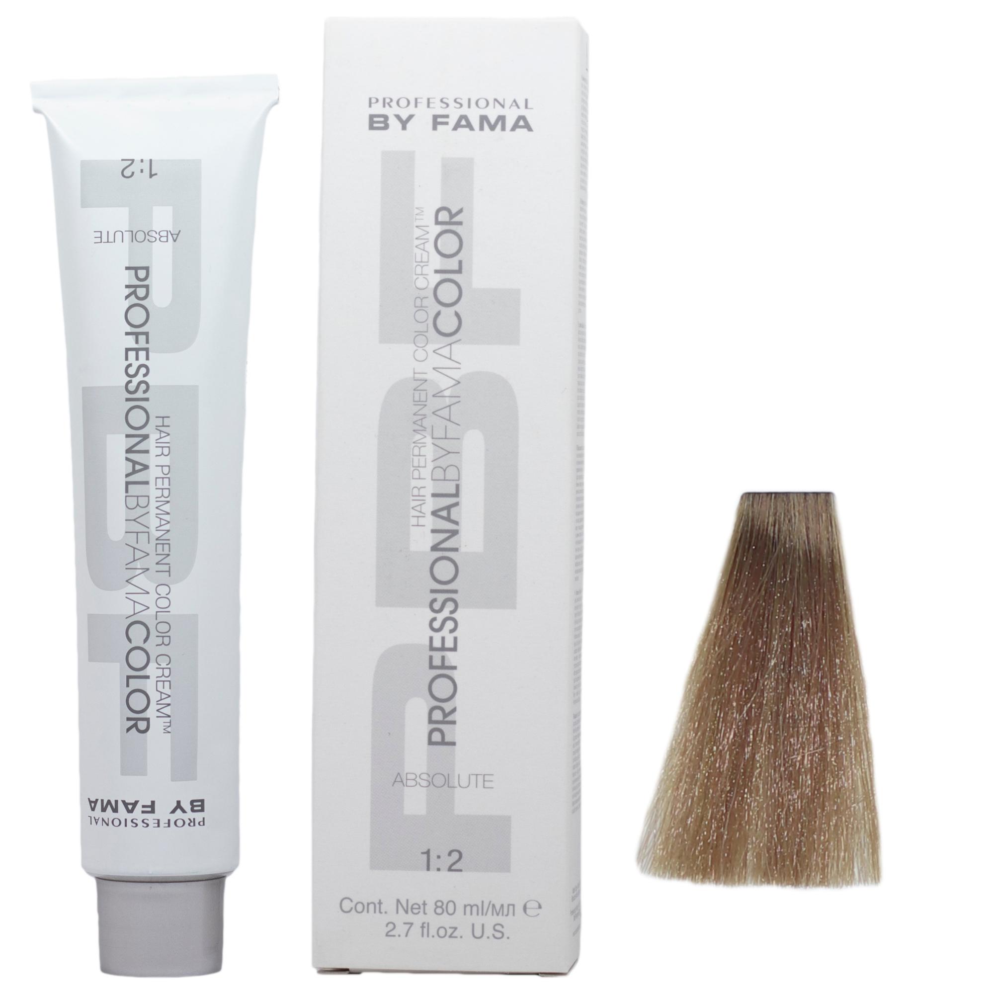 رنگ مو پروفشنال بای فاما سری ابسولوت شماره 9S حجم 80 میلی لیتر رنگ قهوه ای خاکستری