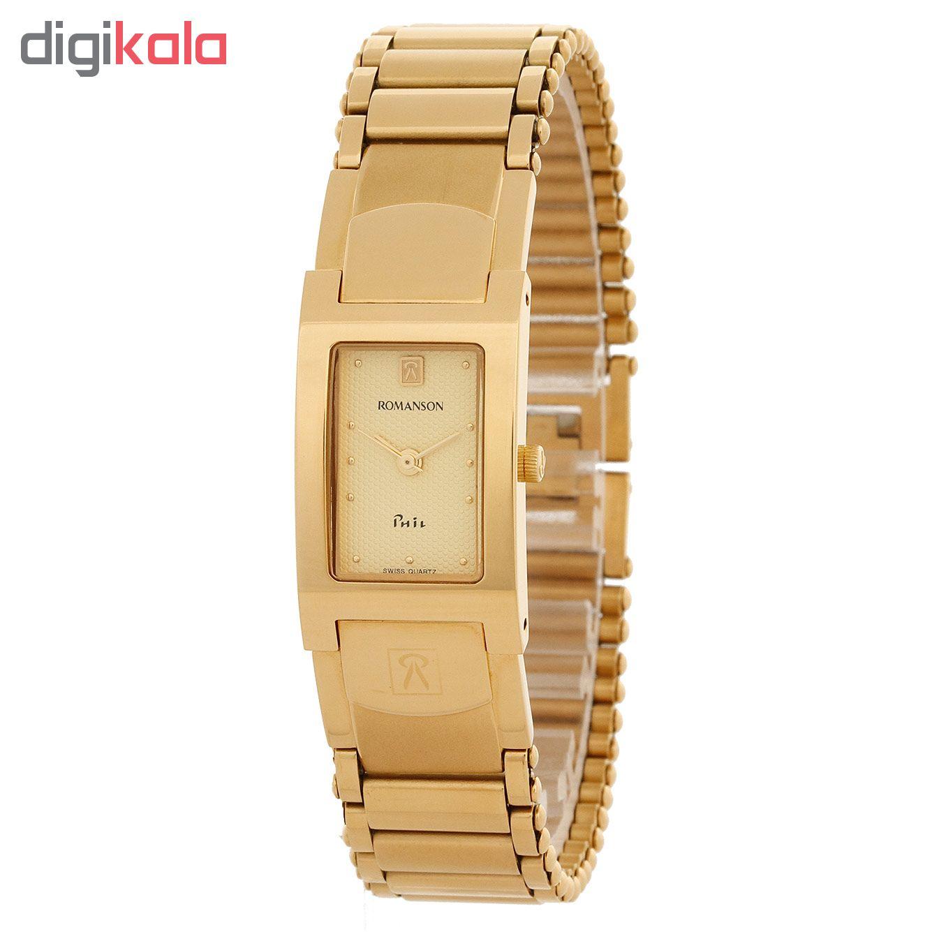 ساعت مچی عقربه ای زنانه رومانسون مدل NM1525LL1GA81G              خرید (⭐️⭐️⭐️)