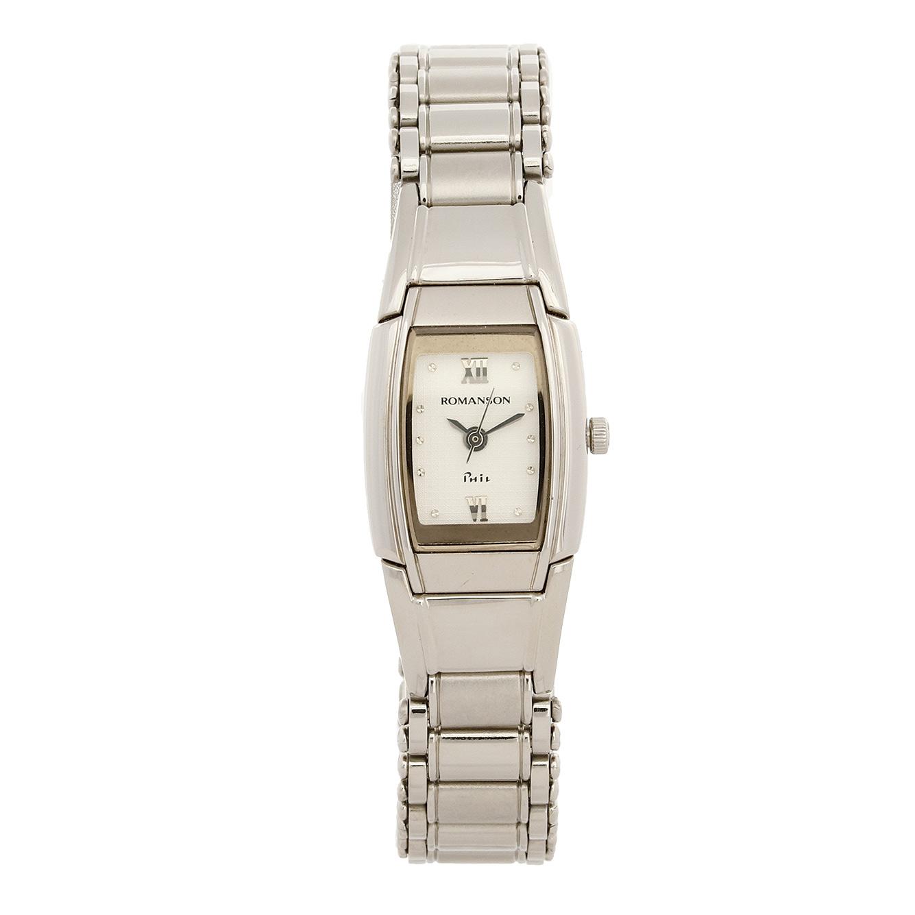 ساعت مچی عقربه ای زنانه رومانسون مدل NM3511LL1WAS2W 48