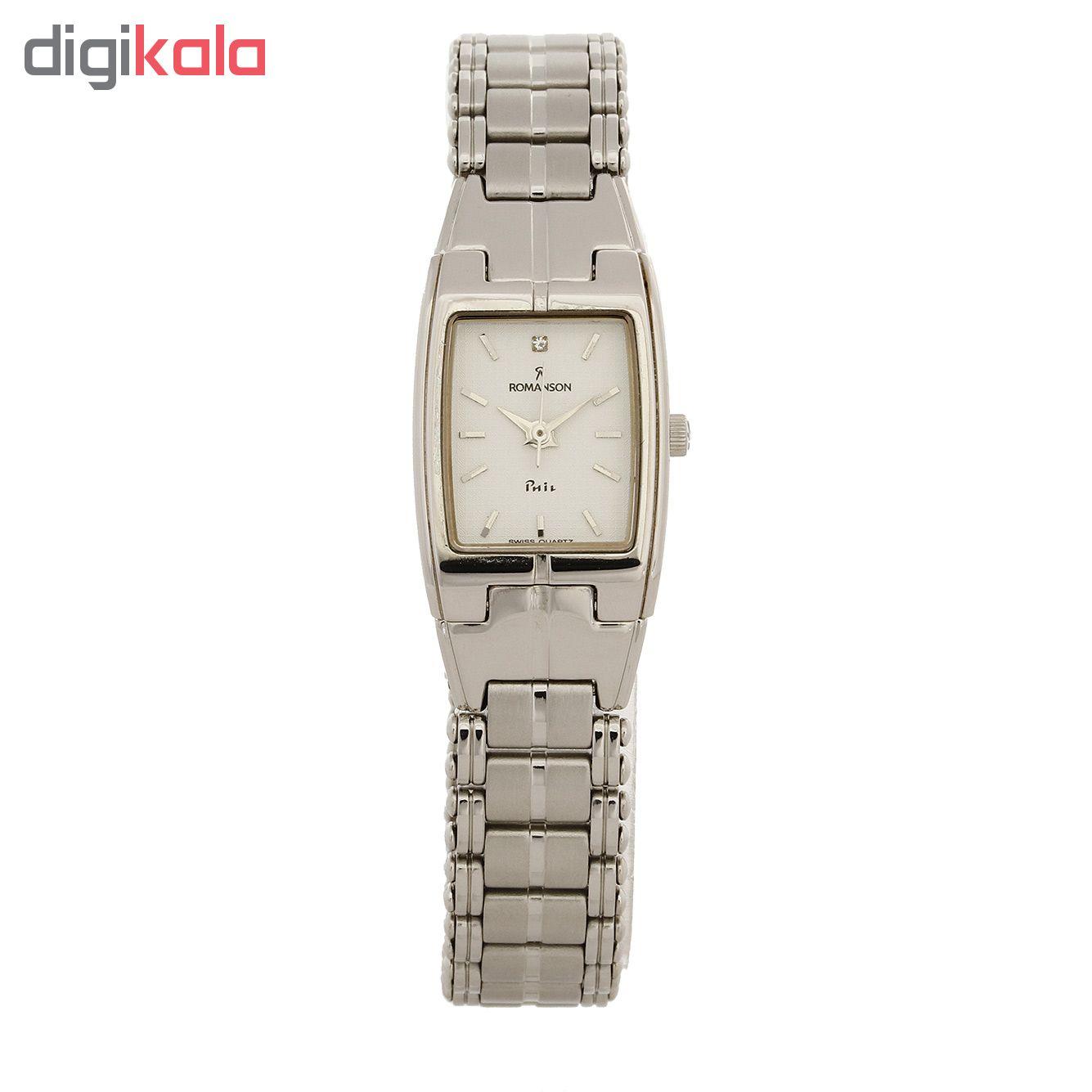 ساعت مچی عقربه ای زنانه رومانسون مدل NM3513LL1WAS2W              خرید (⭐️⭐️⭐️)