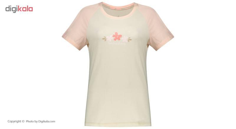 ست تی شرت و شلوار راحتی زنانه ناربن مدل 1521161-07