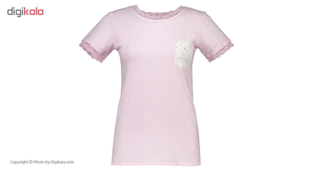 ست تی شرت و شلوار راحتی زنانه ناربن مدل 1521143-84